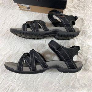 Teva Shoes - Women's Teva Tirra black sandal size 7.5 Wide